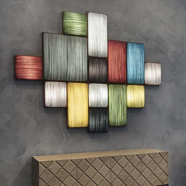 ФОТО Art wall lamp combination wall lamp modern simple european american handmade quality ocean fabric
