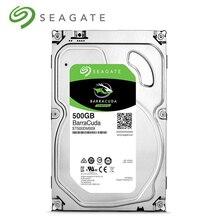 Seagate 500 Гб HDD 3,5 «SATA Настольный ПК Внутренний механический жесткий диск HD 6 ГБ/сек. 7200 об/мин 8 Мб/32 Мб буфер для настольного компьютера ST500DM009