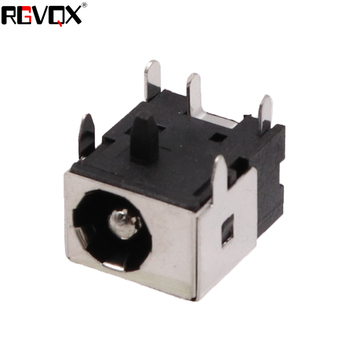 10Pcs New PJ003B 2.5MM DC Jack For ASUS M3 M6 W6 W7 Z62 series dc power jack 2.5mm center pin stands on side