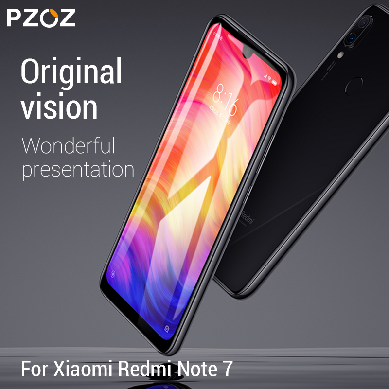 Image 3 - PZOZ For Xiaomi Redmi Note 7 8 K20 Pro 7A Screen Protector Full Cover Tempered Glass For Xiaomi Mi CC9e A3 9 Mi9 Protective Film-in Phone Screen Protectors from Cellphones & Telecommunications