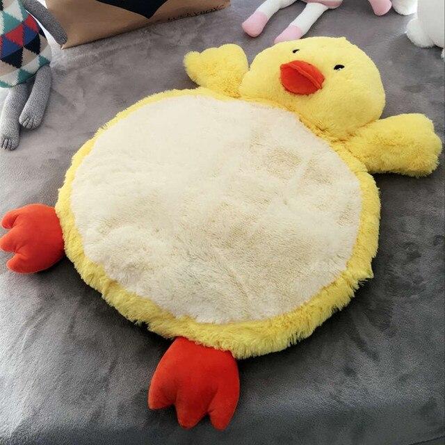 Милые Животные играть мат кролик детское одеяло муслина пеленать новорожденного фотографии реквизит игры pad non-slip подушка dormir сако ребенка