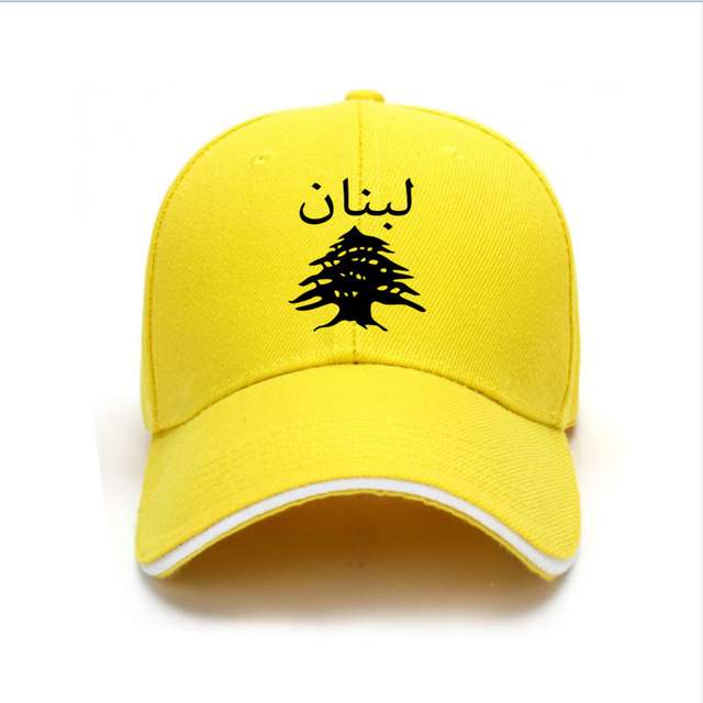 LEBANON male diy free custom name lbn unisex hat nation flag lb republic arabic arab lebanese country print photo baseball cap