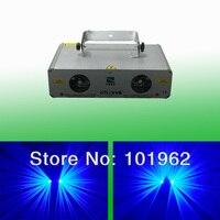 Factory promotion! 1.5W 1500mW 450nm Blue Beam LOGO Laser Light Show System DJ equipment Xmas party lights