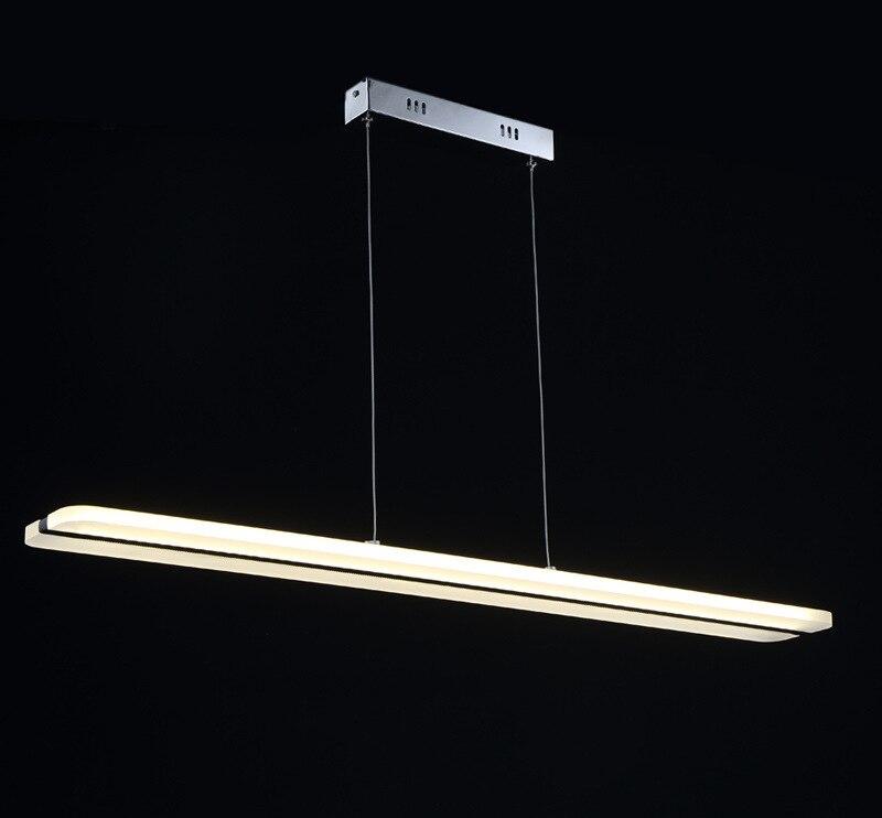 Newest Design LED Chandelier White straight lights Acrylic Suspension Hanging Light Lustre LED Home Lighting Decoration lamp наушники frends the light straight white