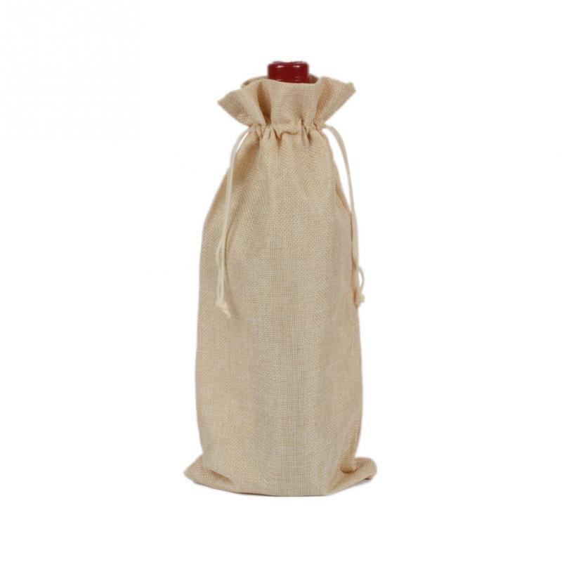 Popular Burlap Drawstring Wine Bags-Buy Cheap Burlap Drawstring ...
