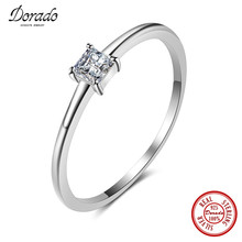 Dorado 2017 New Arrival 100% 925 Sterling Silver Ring Engagement  Finger Rings for Women Hot Sale Jewelry Free Shipping