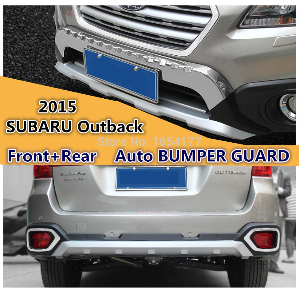 Outback Front Bumper : Outback bumper guard front rear iso high quality
