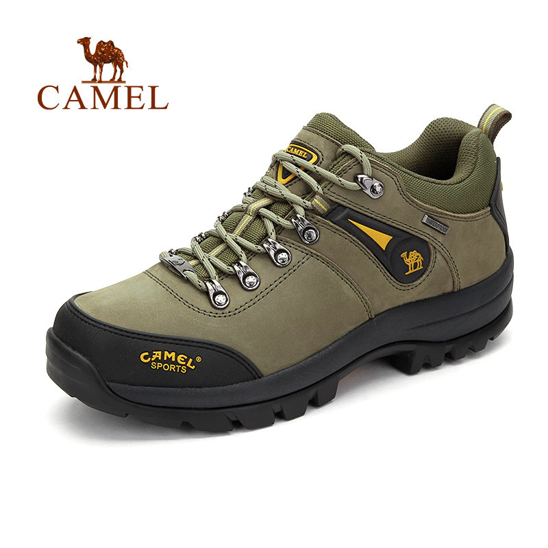 CAMEL Outdoor Hiking Shoes For Men Anti-skid Breathable Sports Trekking Hunting Excursion Climbing Mountain Shoes