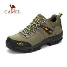 Верблюд Открытый Пеший Туризм обувь для Для мужчин противоскольжения дышащий виды спорта Трекинг охоты экскурсии Восхождение горные ботинки