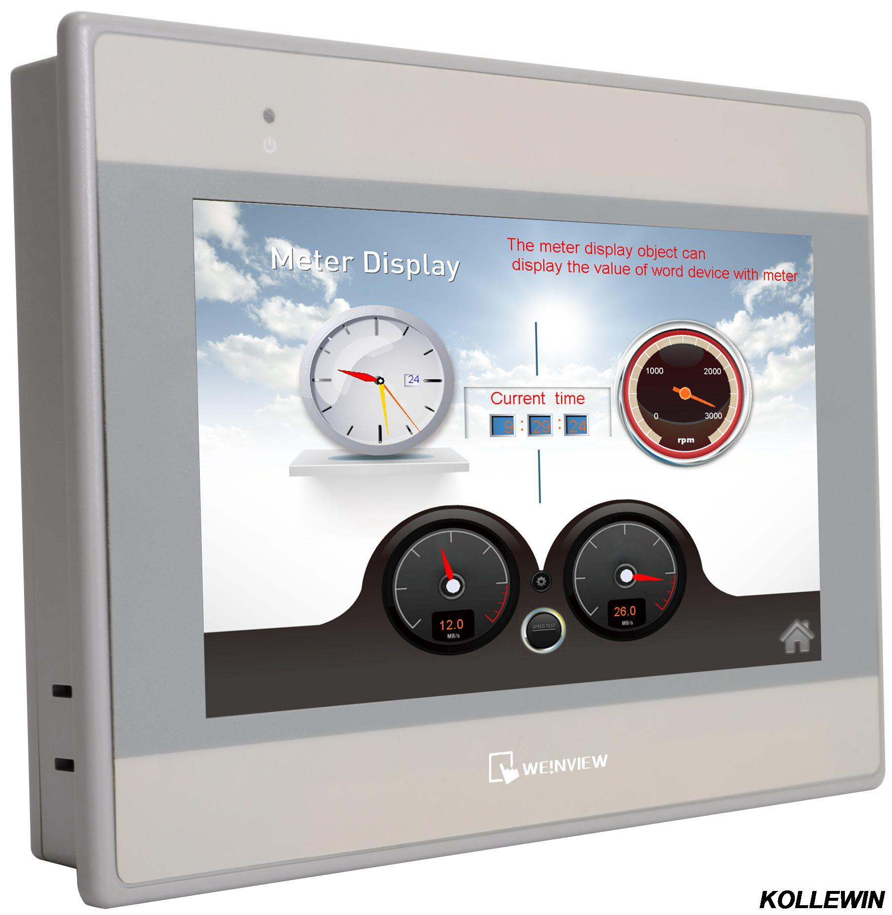 WEINVIEW Weintek MT8071iE touch panel HMI 7 TFT 800x480 32Bits 600MHZ 1 yearwarranty (COMPATIBLE WITH ALLEN BRADLEY PLC'S) mt8071ie new weinview weintek hmi replace mt8070ie