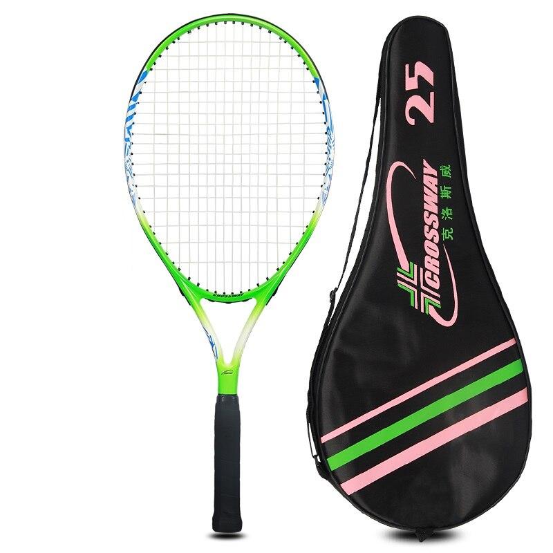 Raquette de tennis de Haute Qualité Nouveau Junior Raquette De Tennis tennis de Formation raquettes pour enfants (10-12 ans) enfants jeunes