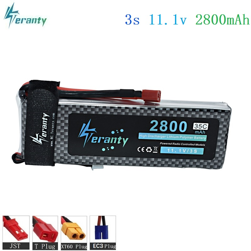 11.1v 2800MAH Lipo Batteries For RC remote controul aircraft 30c-35c for toys helicopter/car/boat 3S Battery 11.1 v lipo battery wild scorpion rc 18 5v 5500mah 35c li polymer lipo battery helicopter free shipping