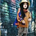 Дети Выбирает Девушки Свитер Хлопок Геометрия Печати 12M-5Y Ребенка Бобо Зима Осень Наряды Кардиган Одежда потяните филь гарсон