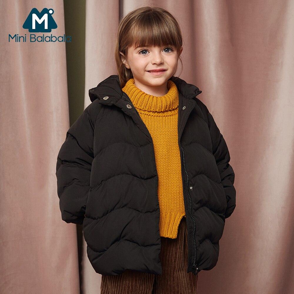 b21da56430de Mini Balabala Kids Lightweight Puffer Jacket for Girls Children ...
