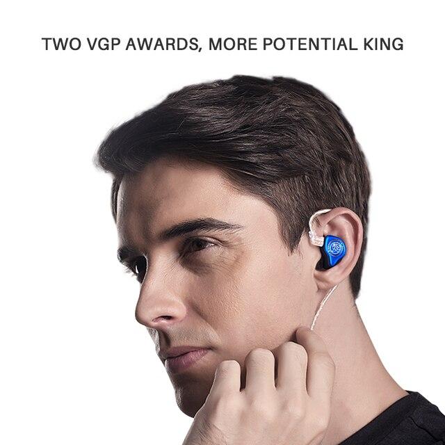 The Fragrant Zither/ KING PRO Neckband HIFI Monitor Earphones, TFZ In Ear sports Hifi Earbuds Bass Earphones Metal earphone 6