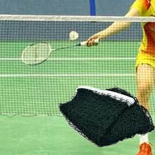 Standard Badminton Net Indoor Outdoor Sports Volleyball Training Portable Quickstart Tennis Badminton Square Net 6.1m*0.76m #91(China)