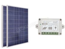 200W 2x100W 12V SOLAR PANEL WITH 15A 15AMP SOLAR CONTROLLER REGULATOR CHARGE