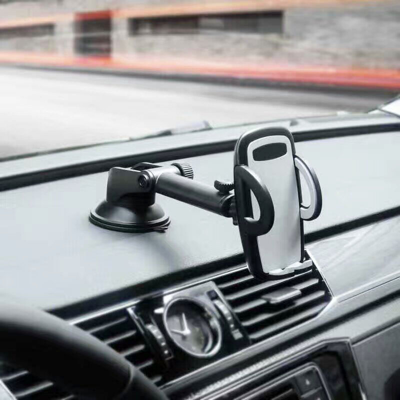Rotary Suction CD Slot Car Air Vent Clip Mobile Phone Car Holders Stands For Huawei Mate 10 Lite,Nova 2i,Honor 9i/7X,Maimang 6