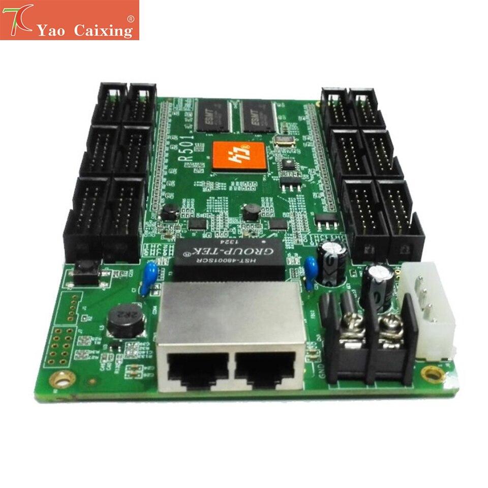 HD-501S Receving Card 12 Hub75 Ports Control Card P2 P2.5 P3 P4 P5 P6 P8 P10 Rgb Full Color Dot Matrix Led Screen