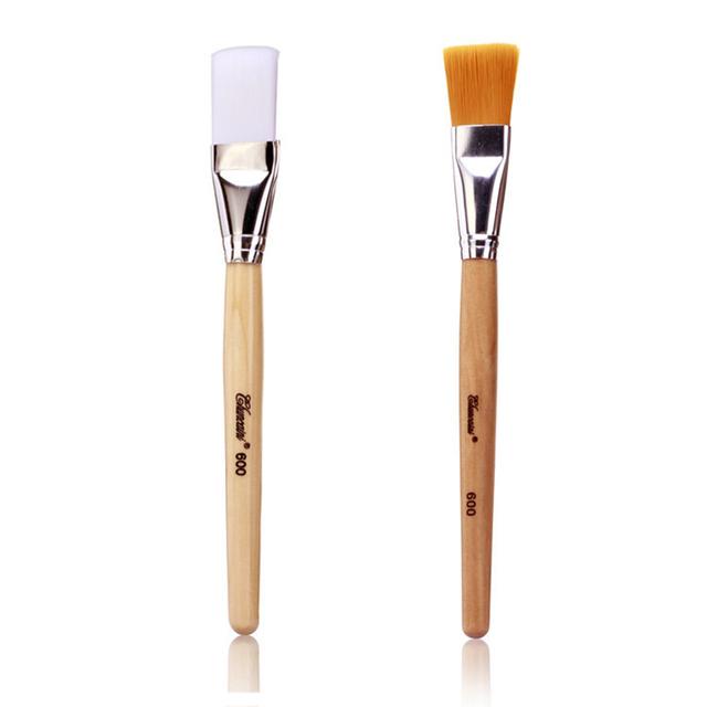 Multi-Function Soft Hair Wooden Handle Mask Brushes Foundation Brush Face Mud Mixing Brush Cosmetic Make up Brushes