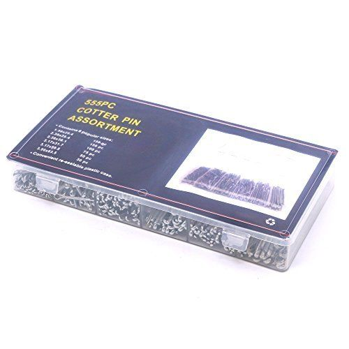 Heißer Verkauf 555 Pcs Heavy Duty Verzinkt Splint Sortiment Kit 6