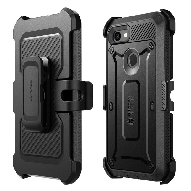 Image 4 - SUPCASE For Google Pixel 3a XL Case (2019) UB Pro Full Body Rugged Holster Protective Case Cover with Built in Screen ProtectorFitted Cases   -