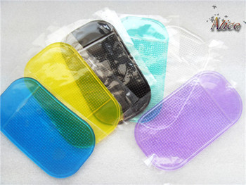 Hot Sale Powerful Silica Gel Magic Sticky Pad Anti Slip Non Slip Mat For Phone Car Accessories image