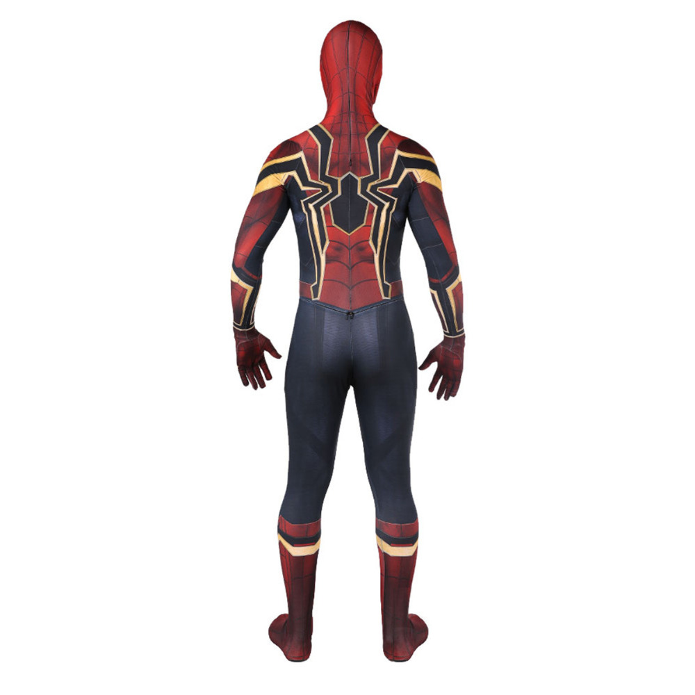 Spiderman Costume Spiderman Homecoming Cosplay Costume Tom Holland Iron Spider Man Suit disfraz Factory Sales in Movie TV costumes from Novelty Special Use