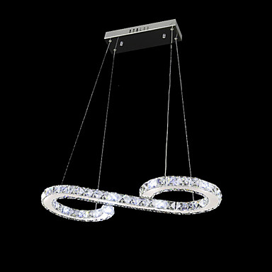 Luxury Modern LED Droplight Lustre Crystal Pendant Light Fixtures For Living Dining Room Hanging Lamp Indoor Lighting Lampara modern crystal chandelier led hanging lighting european style glass chandeliers light for living dining room restaurant decor
