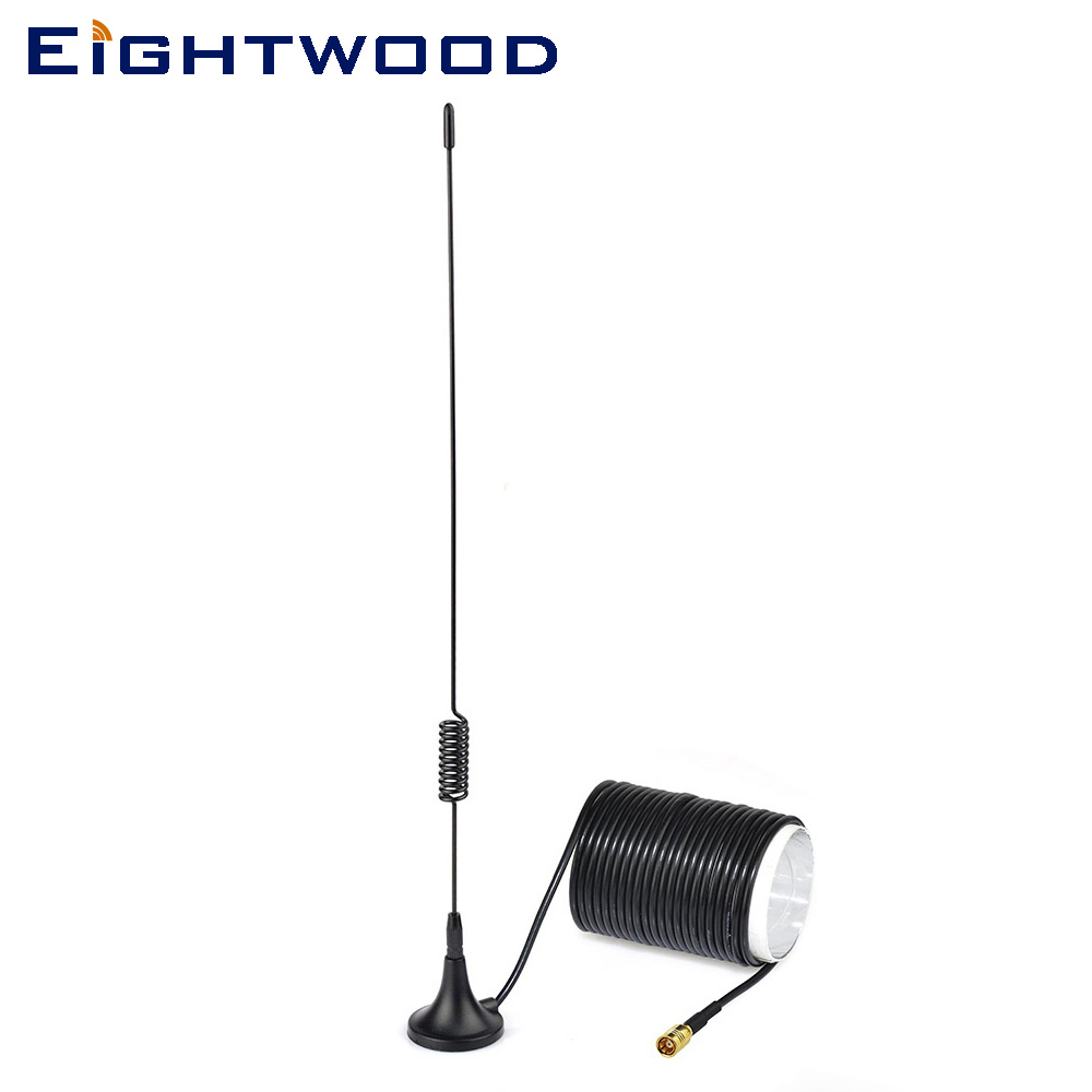Eightwood  DAB/DAB+ car radios aerial magnetic mount DAB aerial for Alpine JVC Kenwood