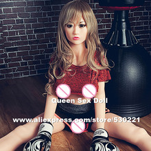 NEW 150cm Top quality real silicone doll, realistic sex doll, adult dolls, artificial vagina pussy anal boob sex toy