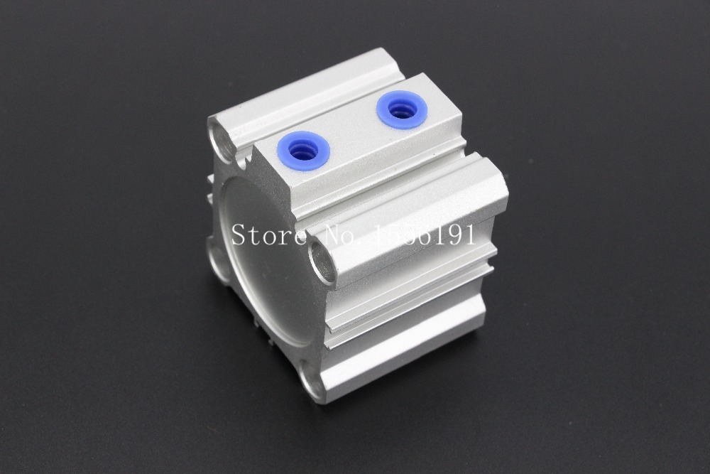 ACQ40*75-B type Airtac Type Aluminum alloy thin cylinder,All new ACQ40-75-B Series 40mm Bore 75mm Stroke