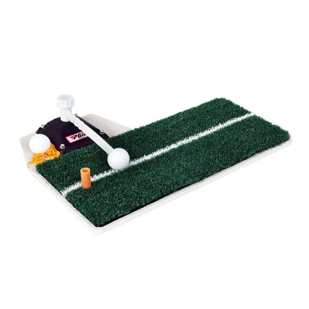 Entraîneur de balançoire de Golf PGM dispositif de pratique de Golf intérieur Portable entraînement de Golf tapis de pratique de frappe HL001 - 5