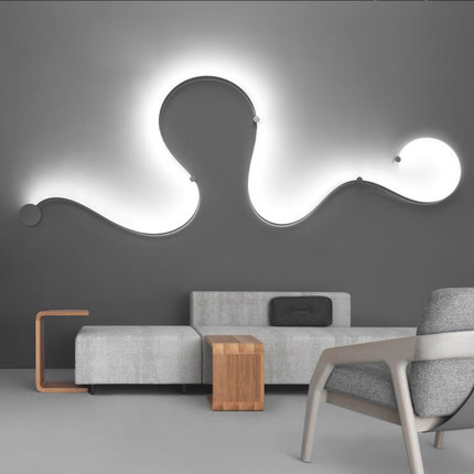 Postmodern Contracted Creative Led Wall Lamp Decoration Of