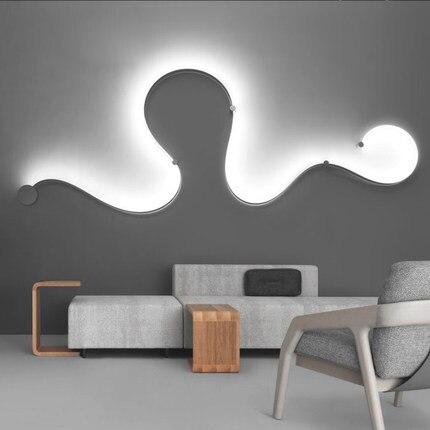 Postmodern contratta creativo ha condotto la lampada da parete della ...