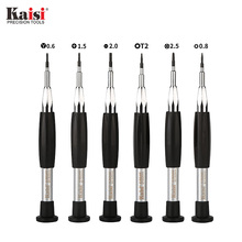 UANME Kaisi K-8246  Screwdriver Set for iPhone X for iPhone 8 7 6S 6 5 4 Repair Tools Opening Disassemble Kit Mobile Phone Tool new x tool 8 in 1 steel case unlock opening disassemble tool kit for xbox 360 slim free shipping
