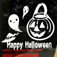 Decalque Da Parede Jack-o Feriado Do dia das bruxas-lanterna fantasma do Dia Das Bruxas adesivos de parede Sala de decoração para casa de Vidro Da Janela Da Loja