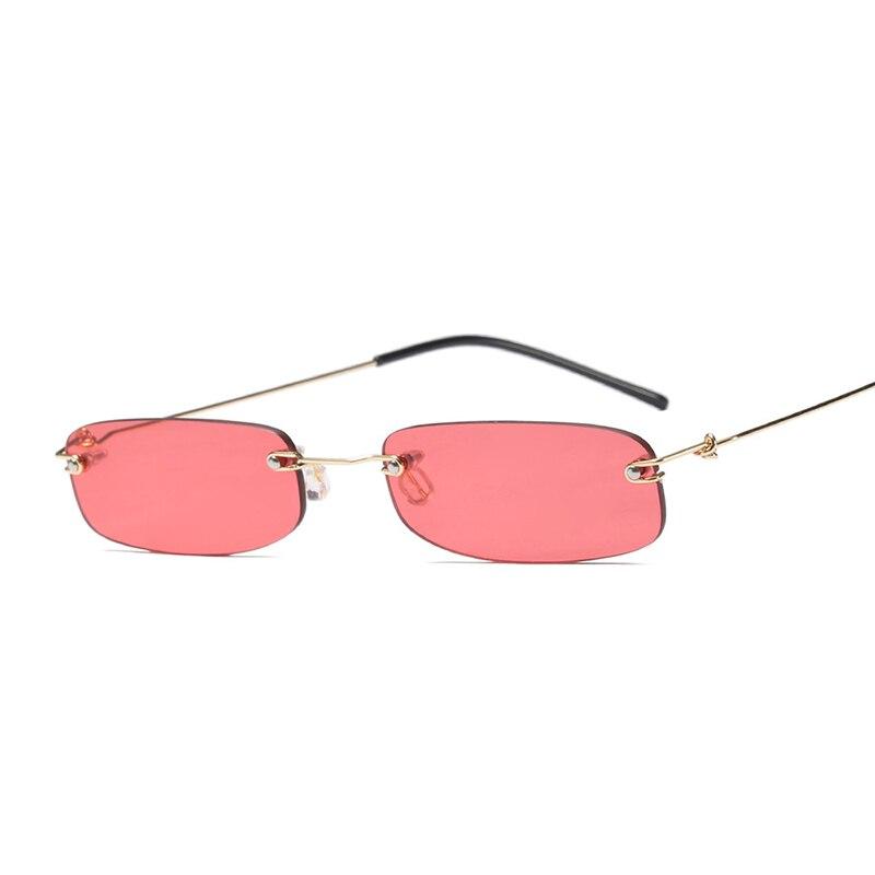 e8ff190880 MOLNIYA 2018 Γυαλιά ηλίου με μικρό ορθογώνιο Ανδρες Γυναίκες Ρετρό ...
