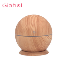 130M Aromatherapy Essential Oil Aroma Diffuser With Wood Grain Aromatherapy Diffuser 7 Color LED Light For Home Air Humidifier цена и фото