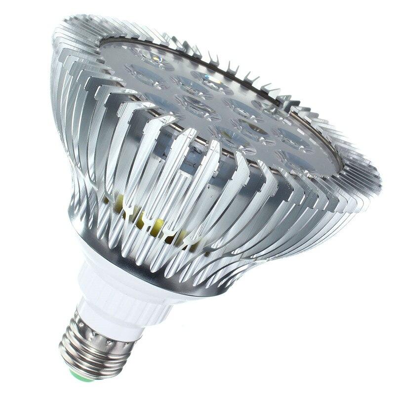 Full Spectrum LED Grow Light E27 Coral Reef Indoor Plant Vegs Growth Lamp PAR38 Aluminum PAR30 for Hydroponic 5-18W AC 85-265V 1pcs ultra bright e27 par20 par30 par38 led light bulb lamp 85 265v 10w 14w 18w 24w 30w led spotlight lamp bulbs indoor lighting
