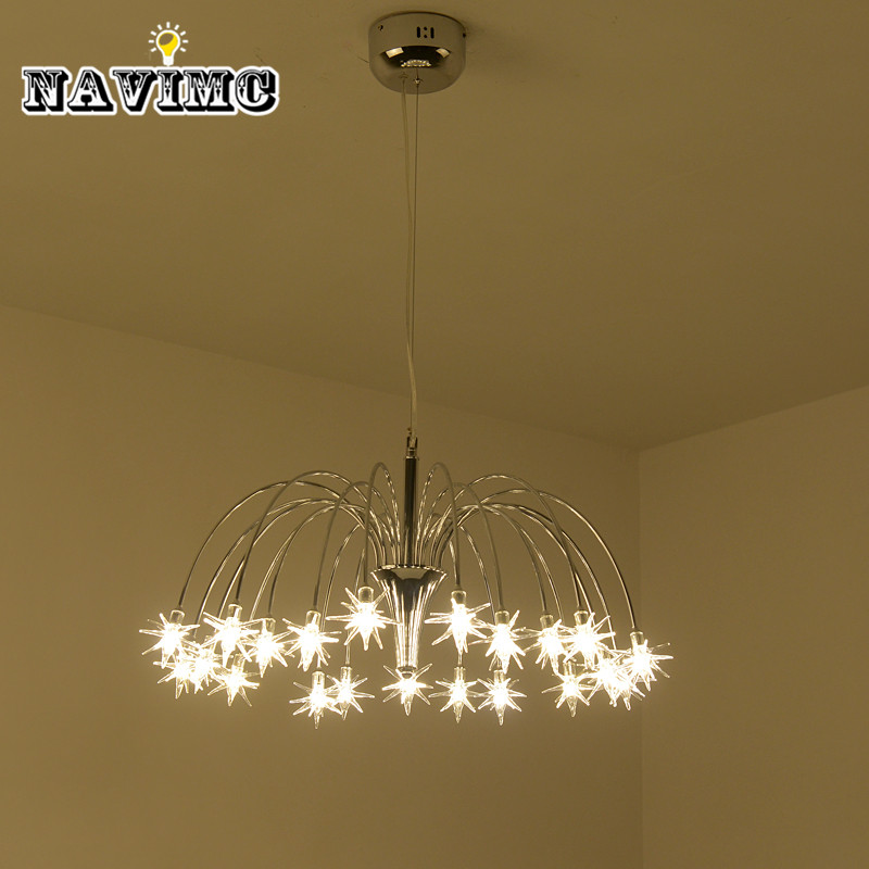 Nordic meteor shower chandelier Lighting Creative personality LED Pendant Lamp for Living room Dining Room Hanging Lamp