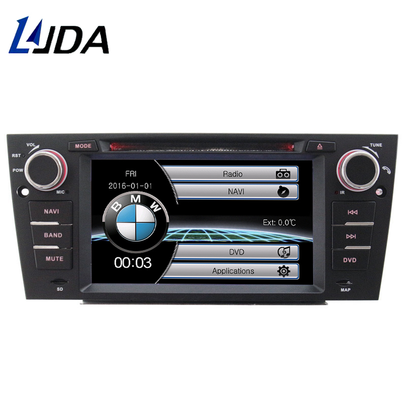 LJDA Car GPS Navigation For BMW 3 Series 318i 320i 325i E90 E91 E92 multimedia AUDIO Car Radio Bluetooth Video Auto Radio Stereo