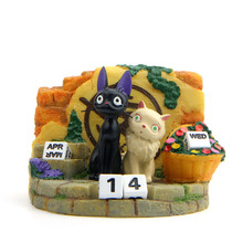 Model-Toys Action-Figure Service Kiki's-Delivery Cat for Calendar Couple Jiji Resin New