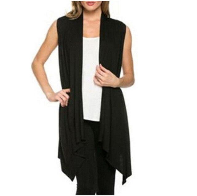 Vrouwen vest mouwloze open stitch Jas Jas Vest Onregelmatige bolero Vest Knit Bat Overhemd Vest Vrouwelijke Feminino Outwears