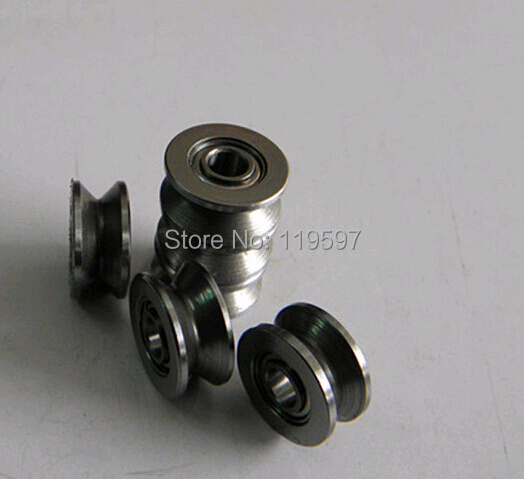 10pcs V623ZZ V groove roller wheel ball bearings 3*10*3 mm embroidery machine pulley bearing V623 623V gcr15 6326 zz or 6326 2rs 130x280x58mm high precision deep groove ball bearings abec 1 p0