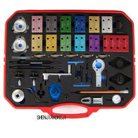 63 Pcs Set Engine Timing Tools Automotive Special Maintenance Tools Car Repair Multifunction Portable Hardware Tools