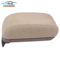 CHUANGMU Suitable for HYUNDAI TUCSON 2004 2014 central console storage content handrail lid Double layer and high cloth