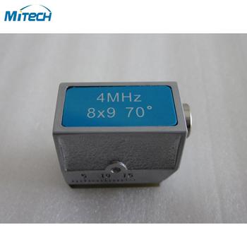 4MHz 8 #215 9 kąt 70 stopni sondy NDT sondy tanie i dobre opinie Angle Probe MiTeCH NDT Probe