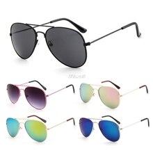 66066cfed022 wupp Kid Sunglasses Children Boys Girls Cute Baby Frame UV400 Mirror Pilot  Eyewear