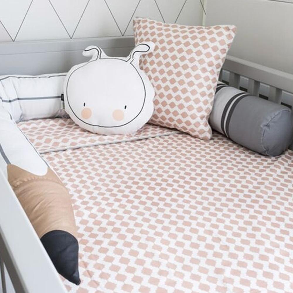 190 CM mode nouveau-né pare-chocs enfants protecteur oreiller coussin crayon forme bébé lit pare-chocs pour bébé chambre décor